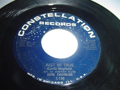 GENE CHANDLER - JUST BE TRUE - CONSTELLATION { 2042