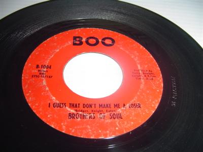 BROTHERS OF SOUL - HURRY DONT LINGER - BOO { 2039