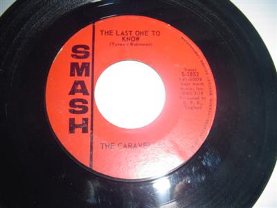 THE CARAVELLES - LAST ONE TO KNOW - SMASH { 2025
