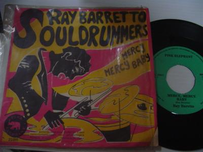 RAY BARRETTO - SOUL DRUMMERS - PINK ELEPHANT { 2019