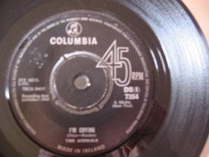 The Animals - I'm Crying - Columbia Irish 1964