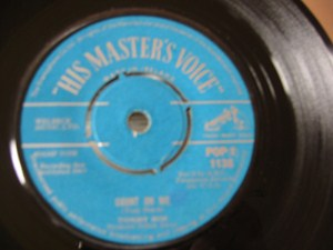 Tommy Roe - Count on me - HMV IRISH 1963