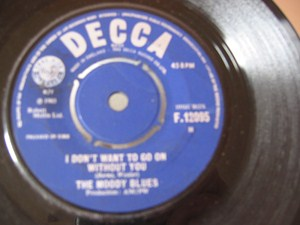 The Moody Blues - Time is on my side - Decca Irish 1965