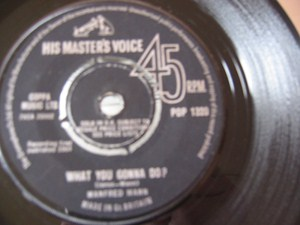 Manfred Mann - Do wah diddy diddy - HMV UK 1964