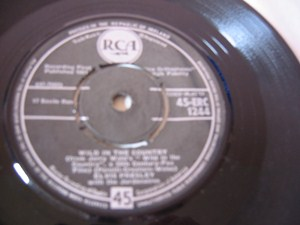 Elvis Presley - I feel so bad - RCA IRISH 1961