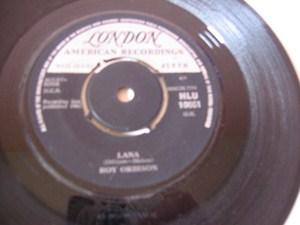 Roy Orbison - Lana - London Irish 1962