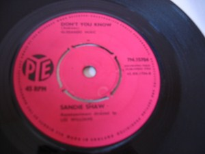 Sandie Shaw - Dont you know - Pye UK 1964