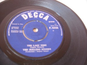 The Rolling Stones - Playing with Fire - Decca Irish 1965