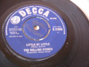 The Rolling Stones - Not Fade Away - Decca Irish 1964