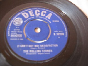 The Rolling Stones - Get no Satisfaction - Decca Irish 1965