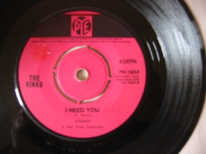 The Kinks - Set me free - Pye UK 1965