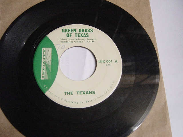 The Texans - Green grass of Texas - Infinity INX.001 - N Mint