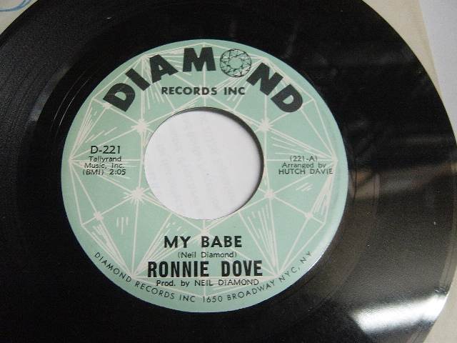 Ronnie Dove - Put my mind at ease - Diamond D.221 Mint Minus