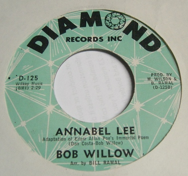 Bobby Willow - The one rose - Diamond D.125 Mint Minus