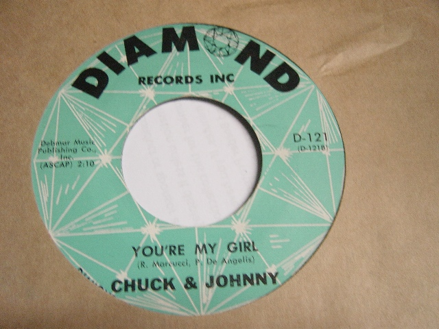 Bobby Vinton / Chuck & Johnny - Diamond D.121 Mint Minus