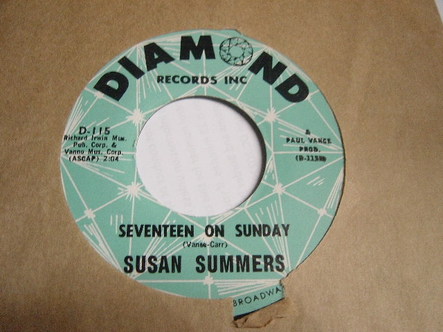 Susan Summers - Alexander your greatest - Diamond Records D.115