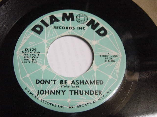 Johnny Thunder - Loop de Loop - Diamond Records D.129 Ex