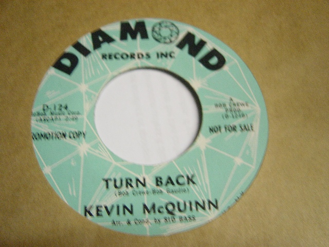 Kevin McQuinn - Philly-del-fi-yea - Diamond Records D.124 Promo