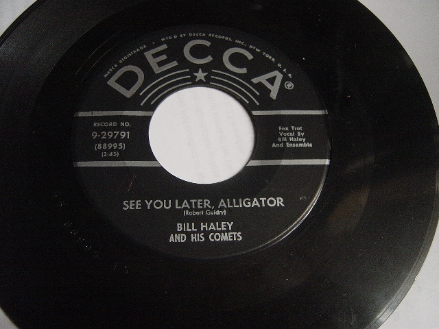 Bill Haley - See you later Aligator - Brunswick 9-29791 USA {2