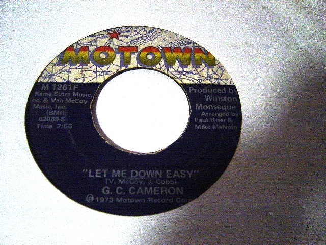 G.C Cameron - Let me down easy - Motown M.1261F 1973 USA