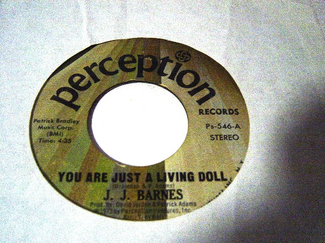 J.J. Barnes - Youre just a living doll - Perception Ps.546 USA