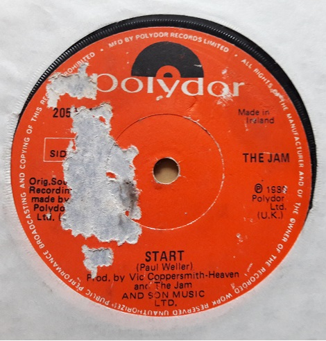 Polydor 2059266 - The Jam - Start - 1980 Irish VG