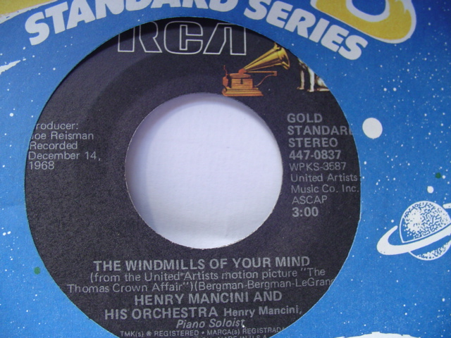 HENRY MANCINI - WINDMILLS OF YOUR MIND - RCA