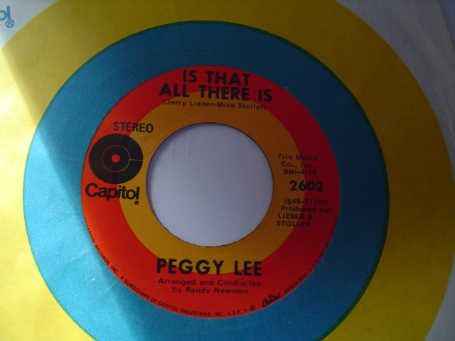 PEGGY LEE - ME & MY SHADOW - CAPITOL