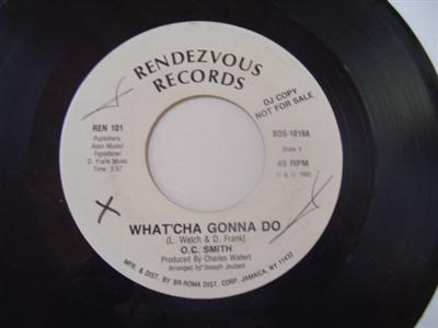 O.C. SMITH - WHAT'CHA GONNA DO - RENDEZVOUS PROMO{ 1926