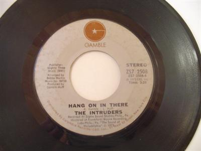 THE INTRUDERS - HANG ON THERE - GAMBLE { 947
