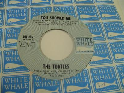 THE TURTLES - BUZZ SAW - WHITE WHALE 292 { 1966