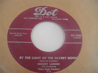 SNOOKY LANSON - WALK RIGHT IN - DOT 15455 - { 1976