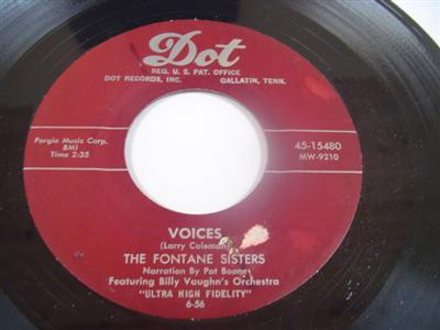 FONTAINE SISTERS - VOICES - DOT 15480 - { 1977