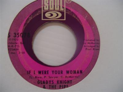 GLADYS KNIGHT PIPS - IF I WERE YOUR WOMAN - SOUL { 1990