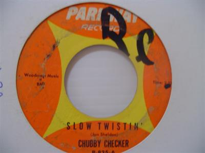 CHUBBY CHECKER - PALOMA TWIST - PARKWAY { 1991