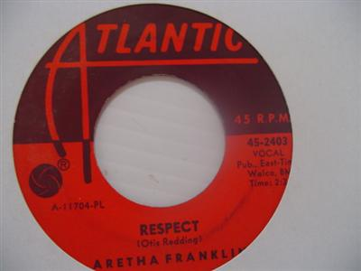 ARETHA FRANKLIN - RESPECT - ATLANTIC 2403 { 1992