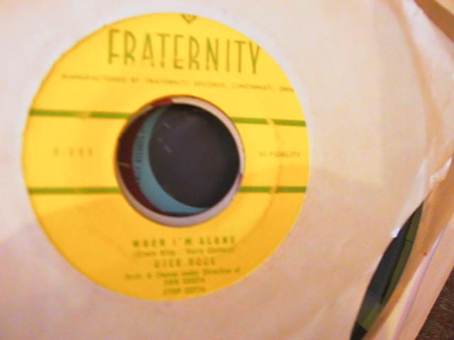 DICK NOEL - WHEN I'M ALONE - FRATERNITY 711 { A 752