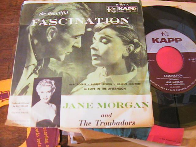 JANE MORGAN - FASCINATION - KAPP 191 {A 754