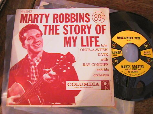 MARTY ROBBINS - PS COLUMBIA 4-41013 { A 707