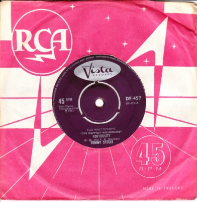 Tommy Steele - Fortuosity - Buena Vista 1967