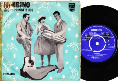 The Springfields - Bambino - Philips P/S 1961