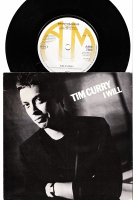 Tim Curry - I Will - A & M UK 1978 Picture Sleeve