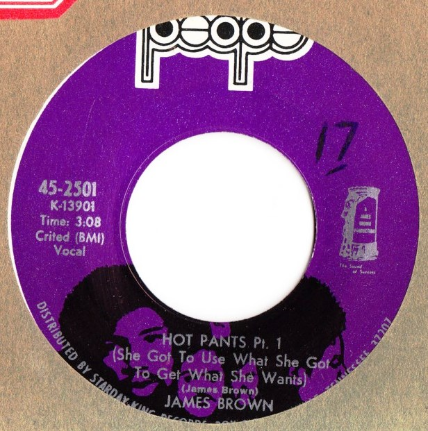 James Brown - Hot Pants 1 & 2 - People Records 2501