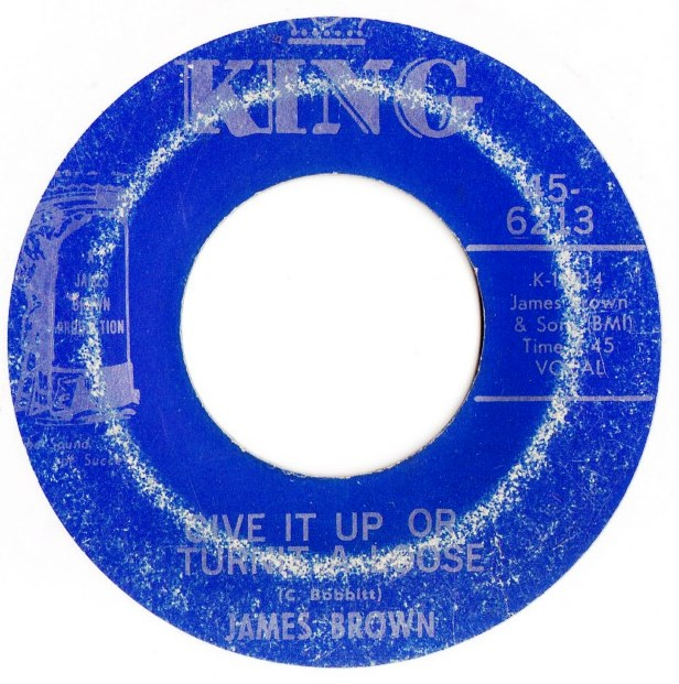 James Brown - I'll loose my mind - King 6213