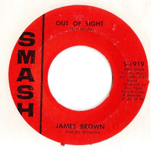 James Brown - Out of Sight - Smash Records S.1919