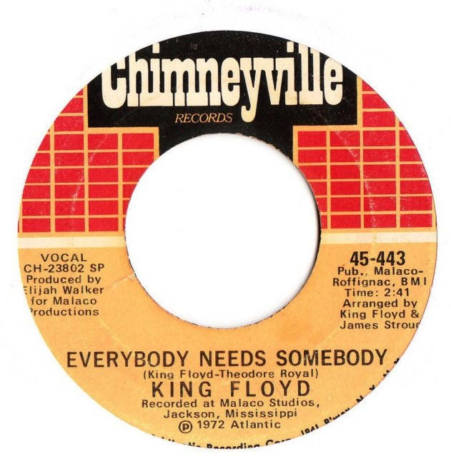 King Floyd - Woman don't go astray - Chimneyville 443
