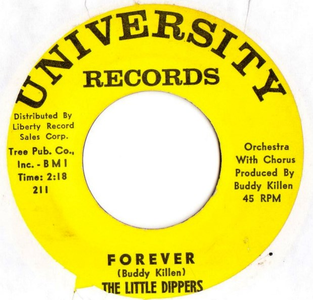The Little Dippers - Two by Four - University Records 210