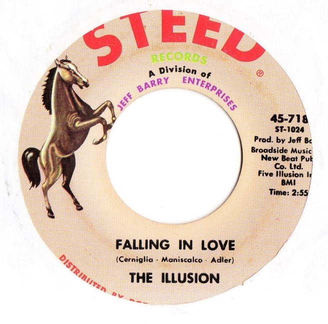 The Illusions - Falling in love - Steed Records 718