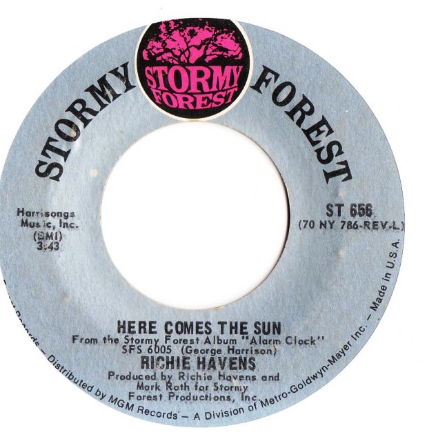 Richie Havens - Here comes the Sun - Stormy Forest 656