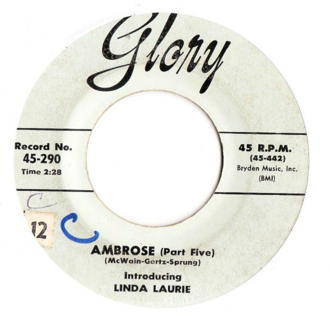Linda Laurie - Ambrose Pt. 5 - Glory Records 290